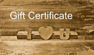 Gift Certificate No. 3 – Romantic Edition